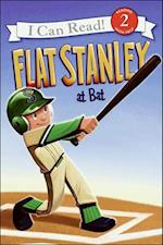 Flat Stanley at Bat (I Can Read Books, Level 2)