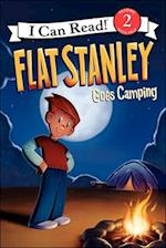 Flat Stanley Goes Camping (I Can Read Reading with Help Level 2 Pb)