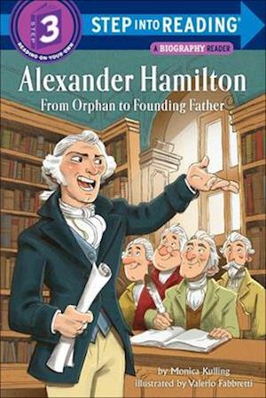 Bog, ukendt format Alexander Hamilton af Monica Kulling