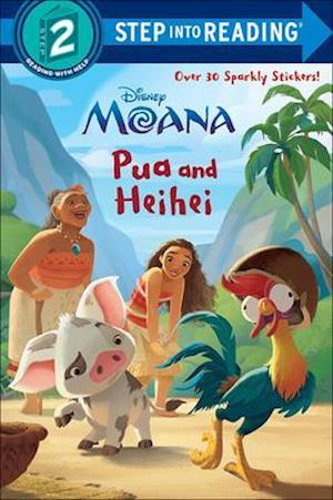 Bog, ukendt format Pua and Heihei af RH Disney