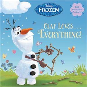 Bog, ukendt format Olaf Loves... Everything! af Random House Disney