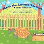 Mavis the Rescued Tortoise