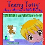 Teeny Totty Uses Mama's Big Potty