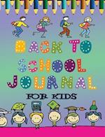 Back to School Journal for Kids