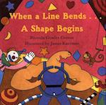 When a Line Bends . . . A Shape Begins af Rhonda Gowler Greene