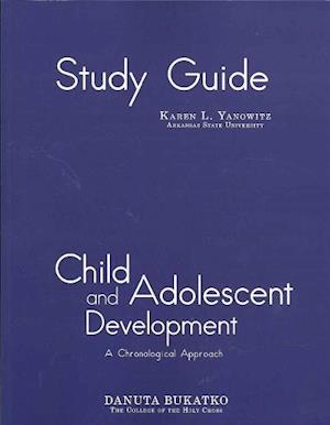 Study Guide: Child and Adolescent Development