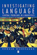 Investigating Language (Language Library)
