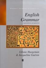 English Grammar (Blackwell Textbooks in Linguistics)