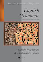 English Grammar (Blackwell Textbooks in Linguistics S)