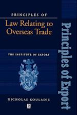 Principles of Law Relating to Overseas Trade (Principle of Export Guidebooks)