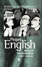 Proper English (Language Library)