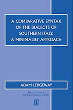 A Comparative Syntax of the Dialects