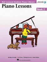 Piano Lessons Book 2 - Audio and MIDI Access Included af Snyder Audrey