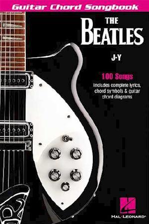 Bog, paperback The Beatles Guitar Chord Songbook J-Y af Beatles