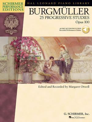 Burgmuller - 25 Progressive Studies, Opus 100 [With CD]