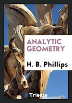 Analytic Geometry af H. B. Phillips