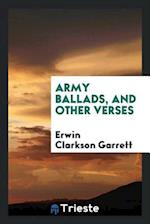 Army ballads, and other verses