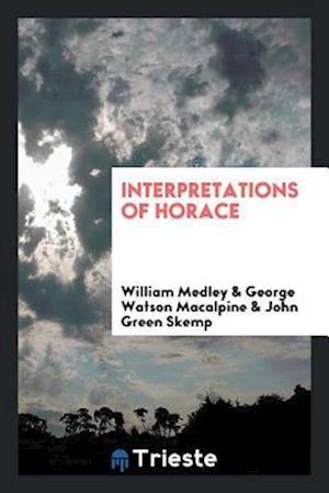 Interpretations of Horace
