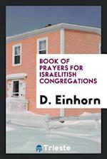 Book of prayers for Israelitish congregations
