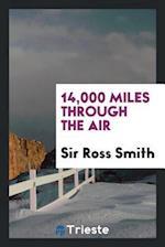 14,000 miles through the air