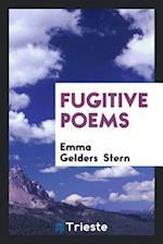 Fugitive poems
