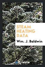 Steam heating data