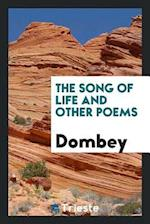 The song of life and other poems af Dombey