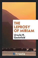 The leprosy of Miriam