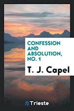 Confession and Absolution, No. 1