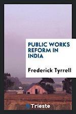 Public works reform in India