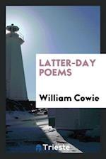 Latter-day poems