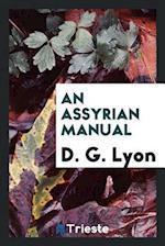 An Assyrian Manual