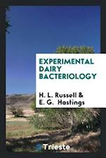Experimental Dairy Bacteriology