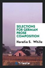 Selections for German Prose Composition