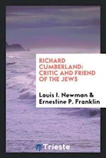 Richard Cumberland: Critic and Friend of the Jews