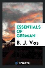 Essentials of German af B. J. Vos