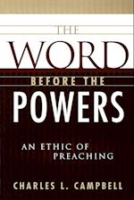 The Word Before the Powers