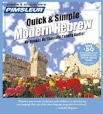 Pimsleur Quick & Simple Hebrew (Quick & Simple Basic Programs)