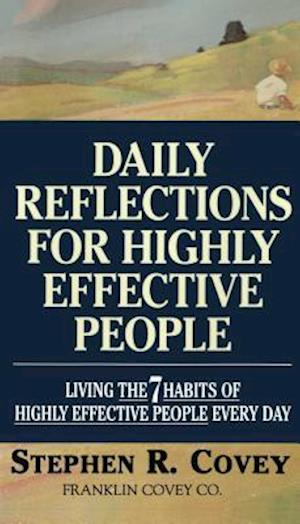 Bog paperback Daily Reflections for Highly Effective People af Stephen R Covey