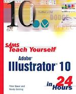 Sams Teach Yourself Adobe Illustrator 10 in 24 Hours (Sams Teach Yourself in 24 Hours Paperback)