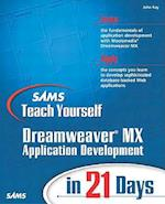 Sams Teach Yourself Macromedia Dreamweaver MX Application Development in 21 Days af John Ray
