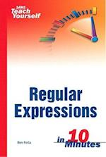Sams Teach Yourself Regular Expressions in 10 Minutes (Sams Teach Yourself in 10 Minutes Paperback)