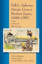 Public Spheres, Private Lives in Modern Japan, 1600-1950 af Gail Lee Bernstein