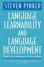 Language Learnability and Language Development, With New Commentary by the Author (Cognitive Science Series)
