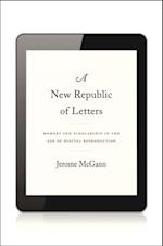 New Republic of Letters af Jerome McGann