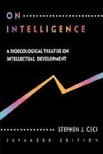 On Intelligence af Stpehen J. Ceci, Stephen J. Ceci, Stephen J. Cece