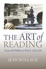 The Art of Reading (Hellenic Studies Series, nr. 73)