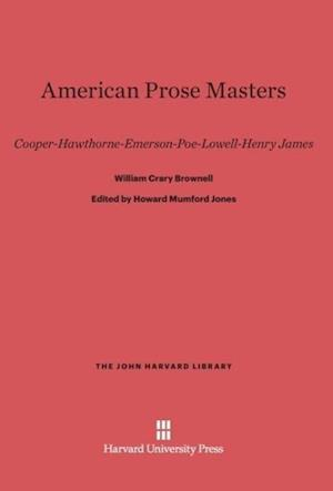 American Prose Masters