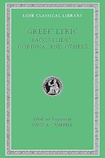Greek Lyric (LOEB CLASSICAL LIBRARY, nr. 461)