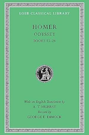 Bog, hardback Odyssey af Homer, George E Dimock, A T Murray